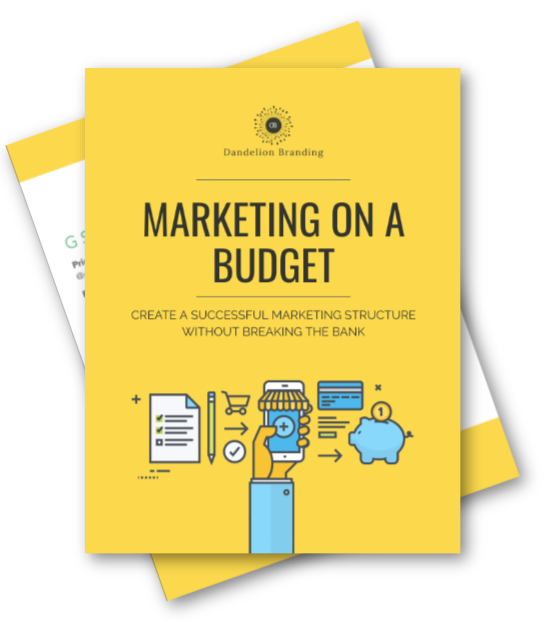 marketing on a budget - for less than $100/month you can do a great job marketing yellow