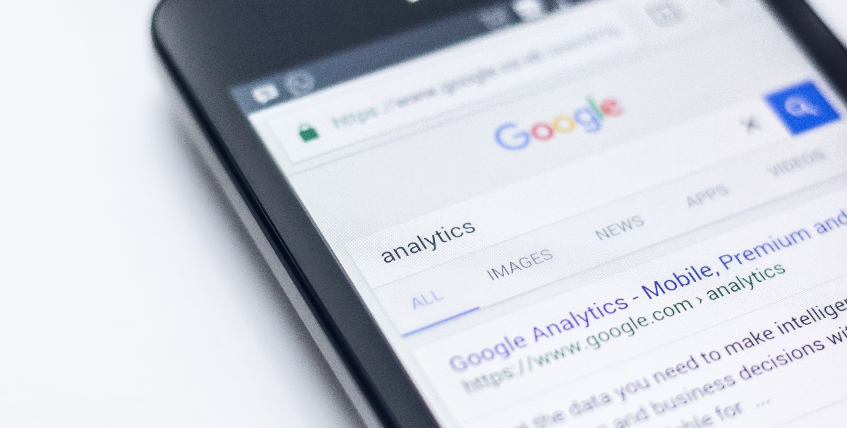 A photo with google analytics for customer behavior metrics
