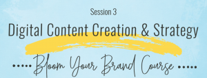 Brand Course Session 3 - Content Creation