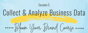 Bloom Your Brand Course Session 5 How to Analyze Data