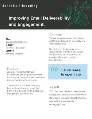 BHC - Case Study - Email Deliverability