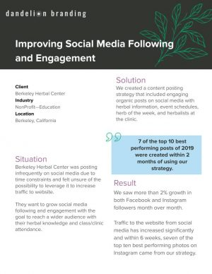 BHC - Case Study - Social Media